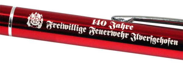 Gravur Metall Kugelschreiber